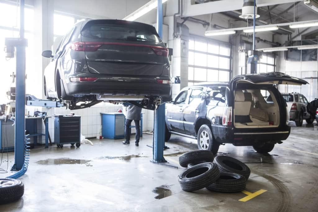 車の法定整備