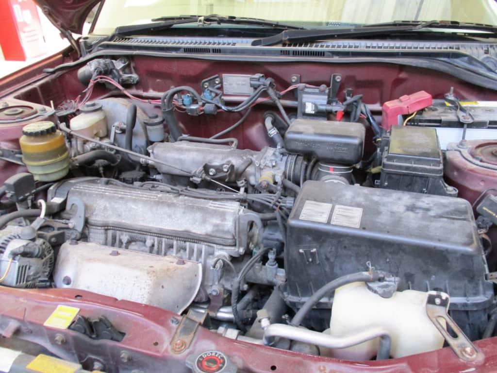 古びたエンジン