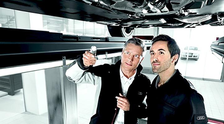 Audi メンテナンス