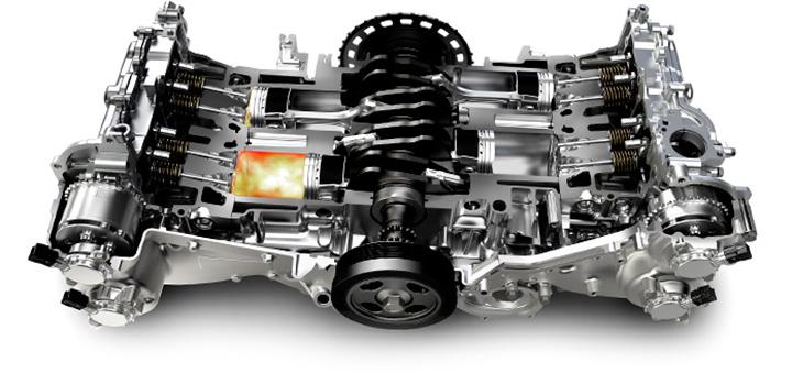スバル 水平対向エンジン