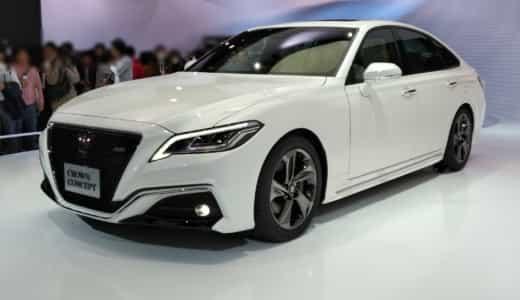 クラウンのフルモデルチェンジ!新型コンセプトカーの画像や特徴を公開【東京モーターショー2017】