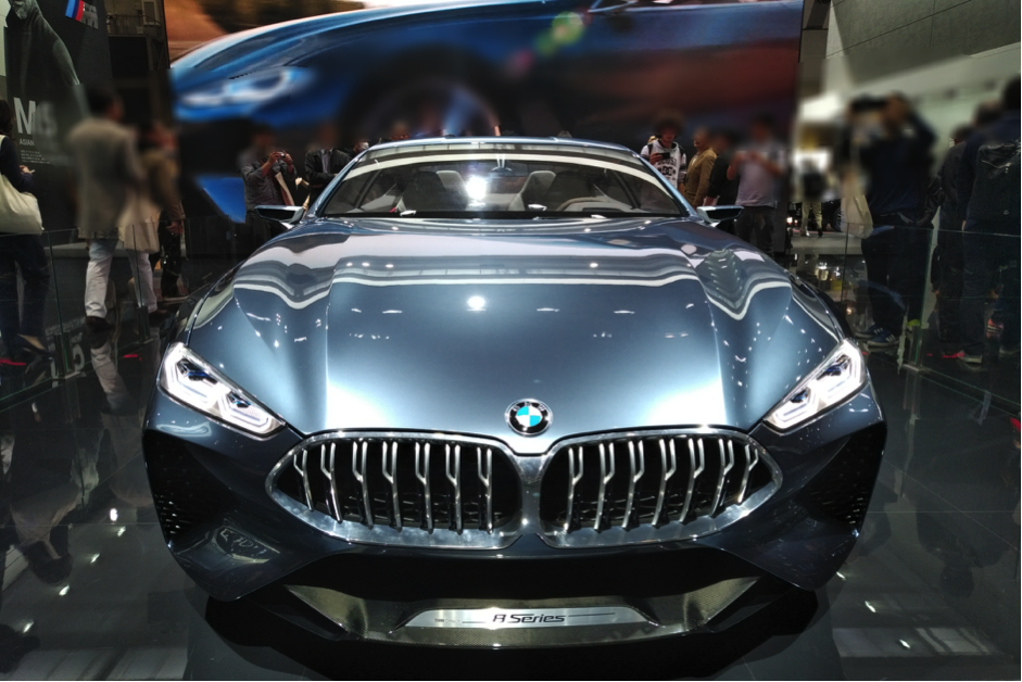 BMW8シリーズのフロントマスク