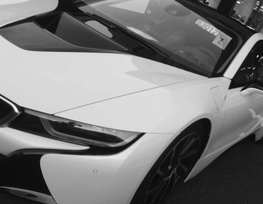 BMWの白