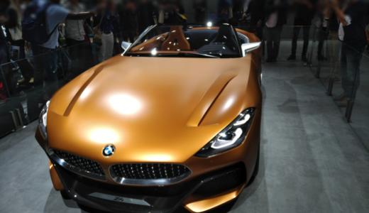 【画像】BMW Z4次期型コンセプトモデルの特徴と内装まとめ【東京モーターショー2017】