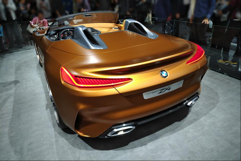 BMW Z4の後ろ側