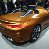 BMW Z4次期型の後ろ側