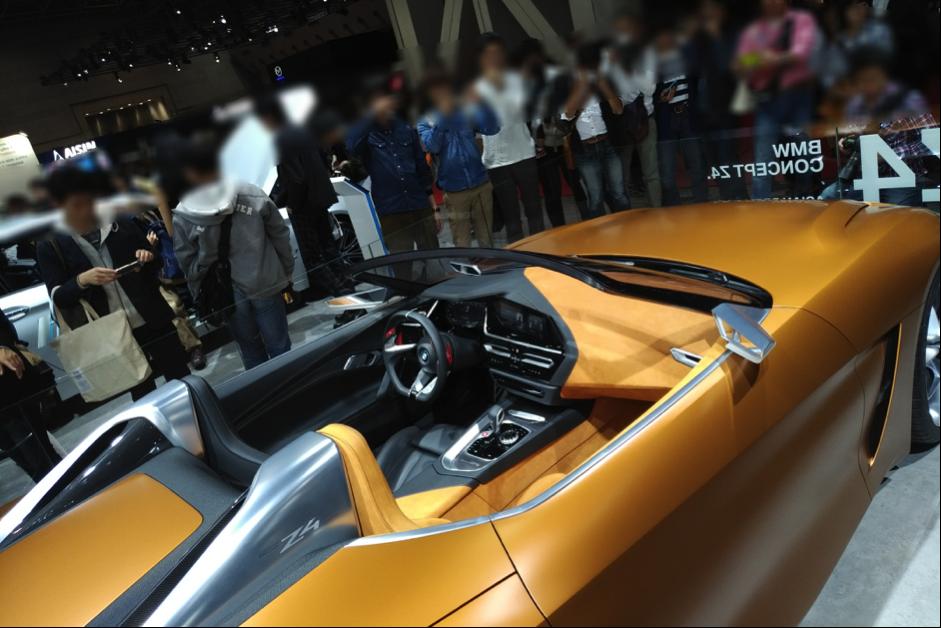 BMW Z4次期型の内装