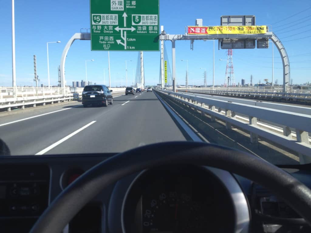 車のスピード