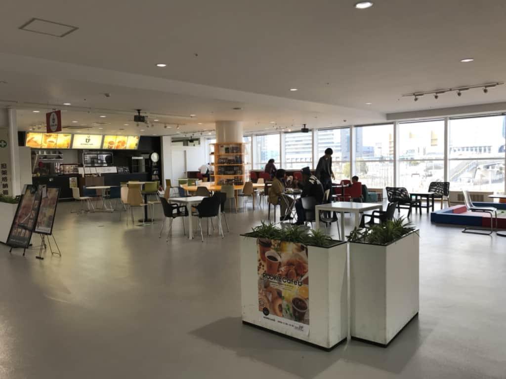 トヨタシティショーケースのルーキーカフェ