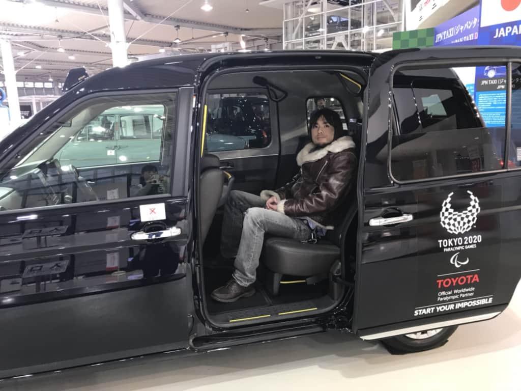 JPNタクシーの試乗