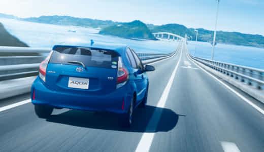 アクアの加速性能を解説!0-100km/h加速タイムはどのくらい?