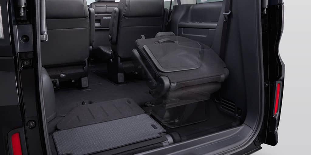 ステップワゴンのシート床下収納