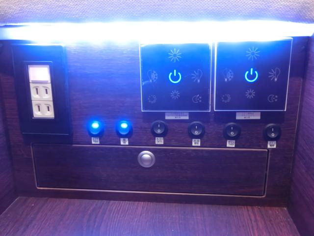 ボーダーバンクスエボリューションの電源スイッチ