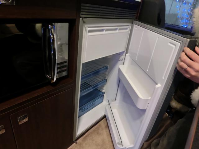 ボーダーバンクスエボリューションの冷蔵庫