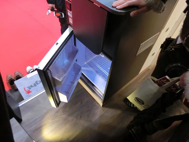 SunlightCLIFF540の冷蔵庫