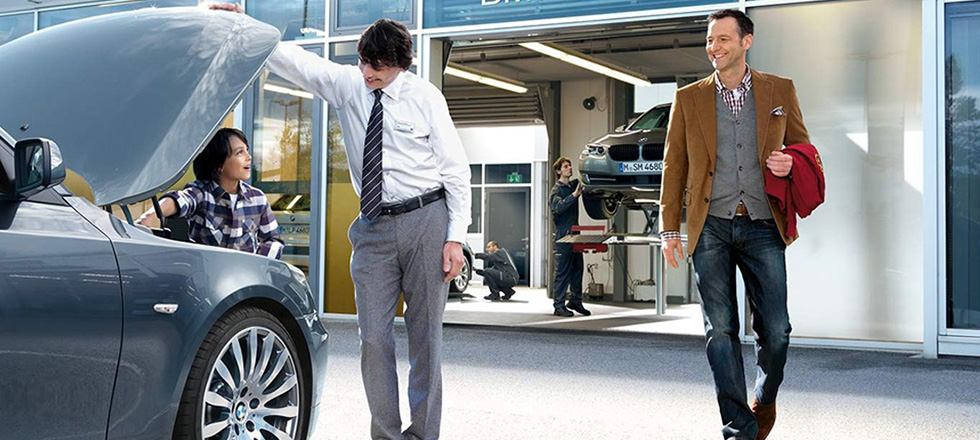 BMW メンテナンス