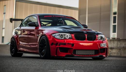 【画像】BMW1シリーズのカスタム例まとめ!改造・ドレスアップする方必見!