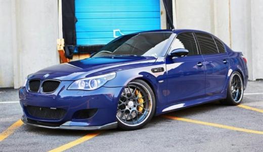 【画像】BMW E60のカスタム例まとめ!改造・ドレスアップする方必見!