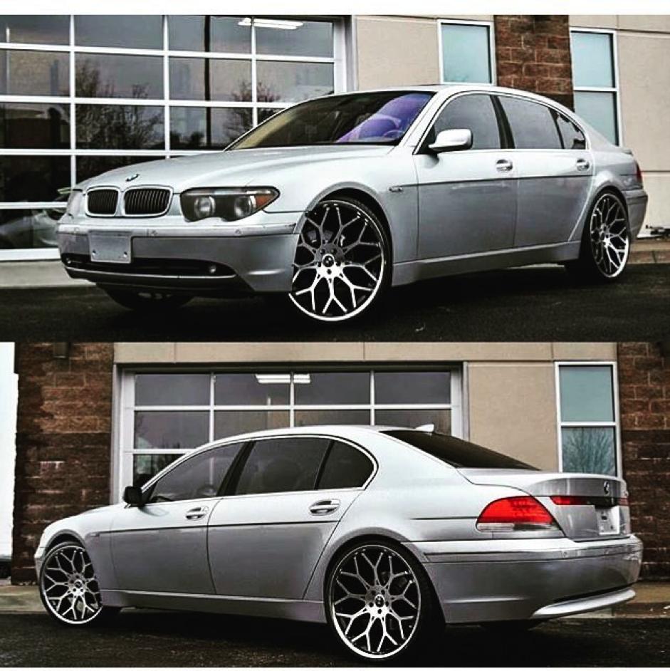 BMW7シリーズのカスタム