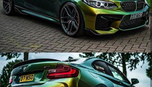 【画像】BMW M2のカスタム例まとめ!改造・ドレスアップする方必見!