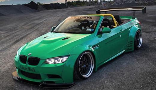 【画像】BMW M3のカスタム例まとめ!改造・ドレスアップする方必見!