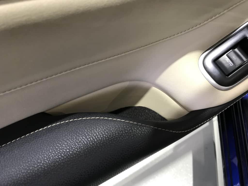 クラウンマジェスタの後部座席ドアポケット