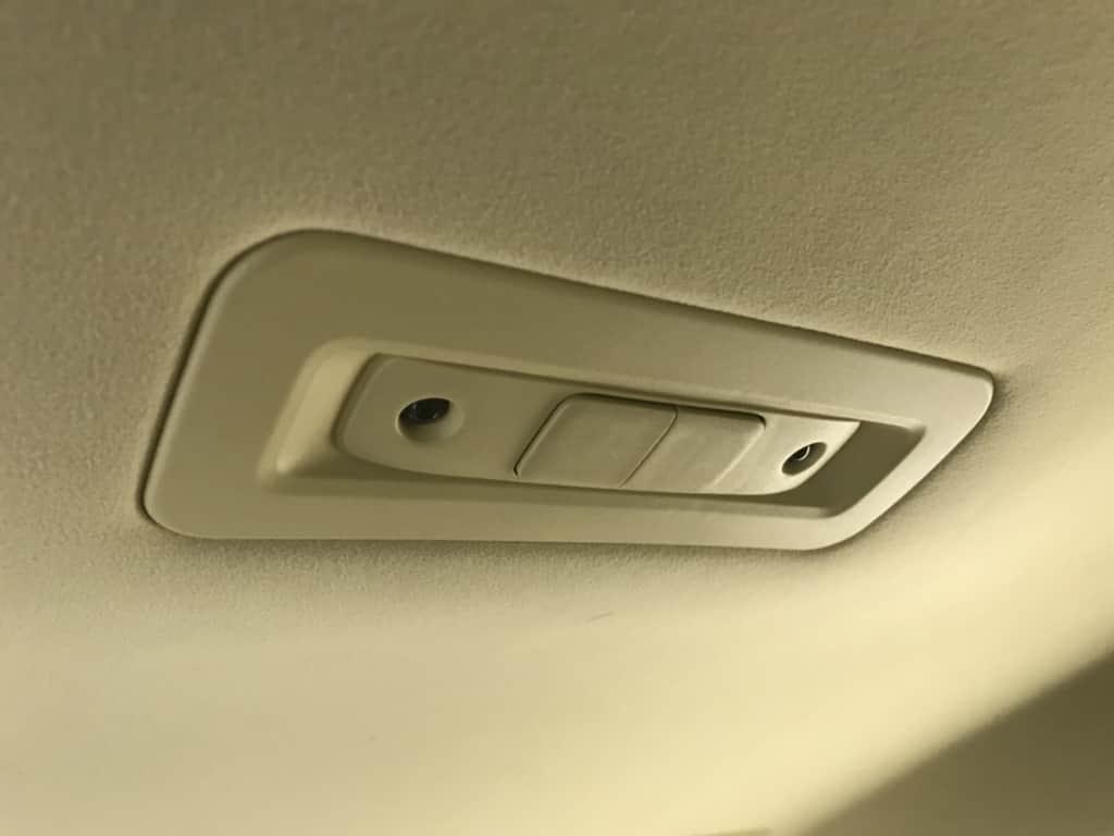 クラウンマジェスタの後部座席の室内灯