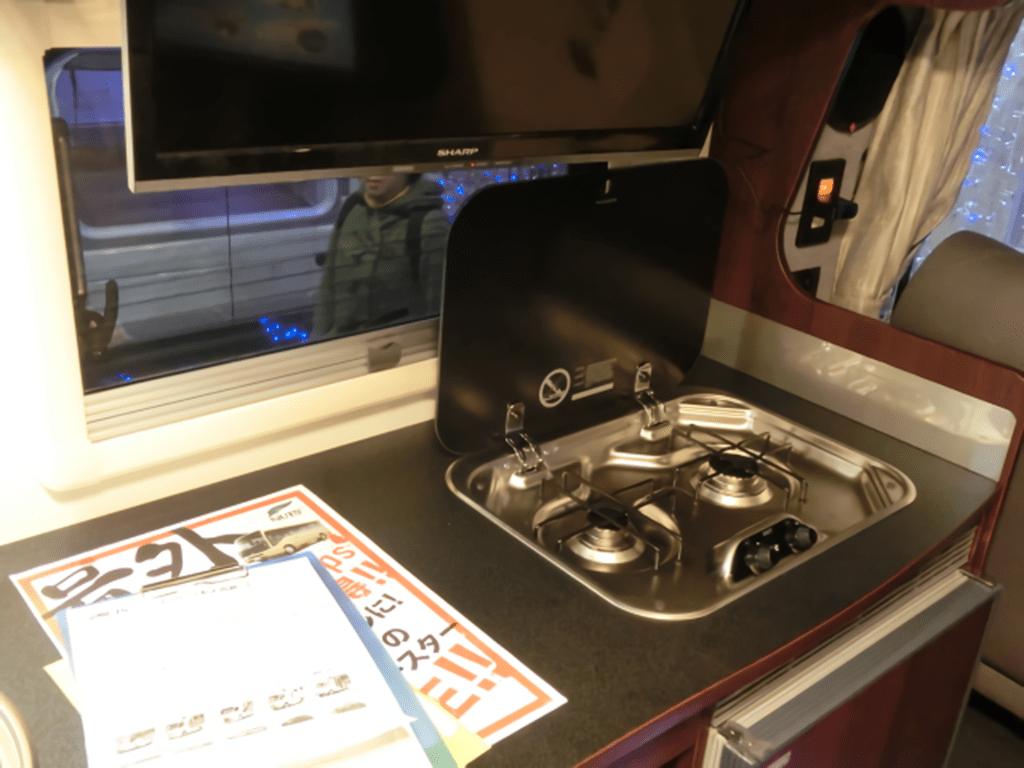 ボーダーバンクスエボリューション タイプT ガス台