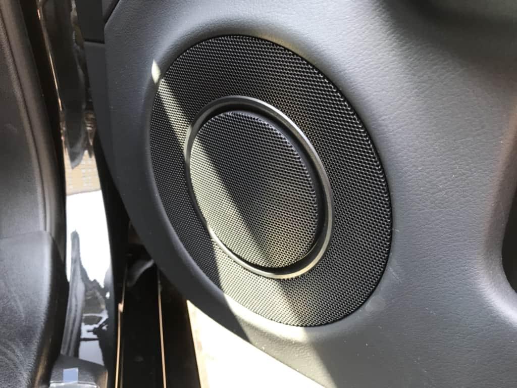 レクサスGSの運転席ドアのスピーカー