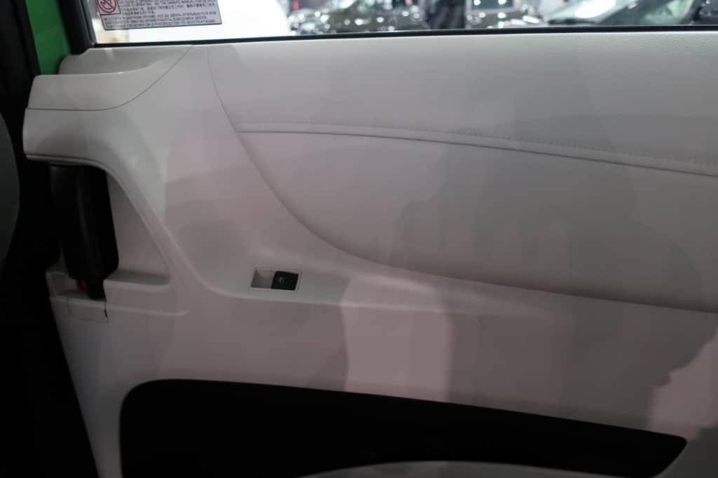 シエンタの後部座席のドアトリム