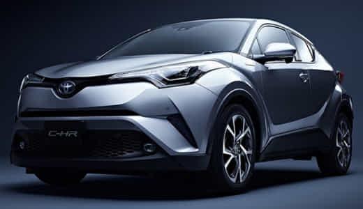 【画像】トヨタC-HRはかっこいいのか?デザインについて徹底分析!