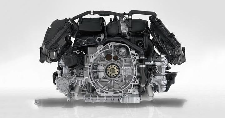 ポルシェ 水平対向エンジン