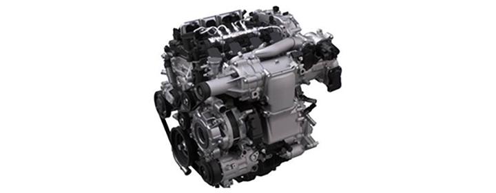 スカイアクティブXエンジン