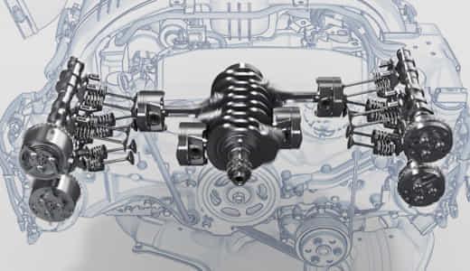 水平対向エンジン/ボクサーエンジンのメリット5つとデメリット5つ!音がいい?!