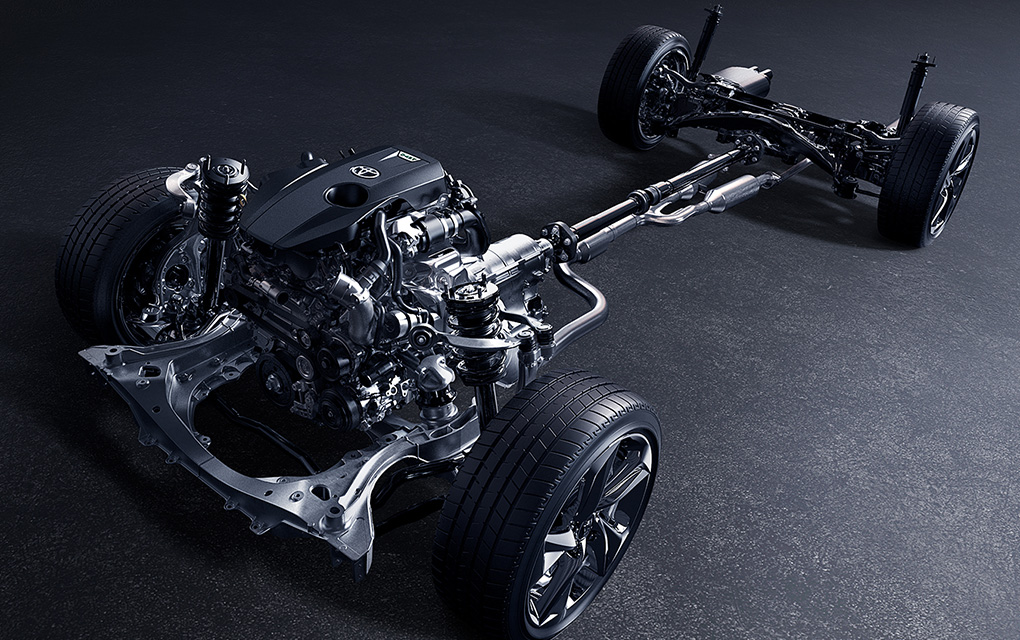 トヨタ クラウンのエンジン
