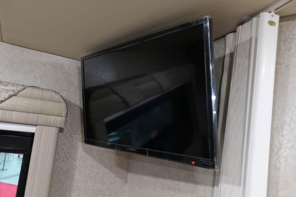 エコノライン ウィネベーゴアスペクトのテレビ