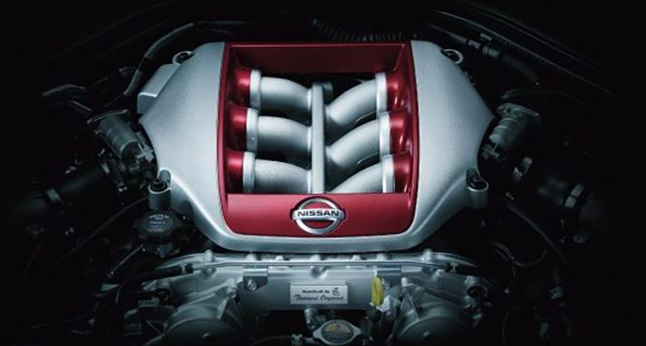 GT-R エンジン