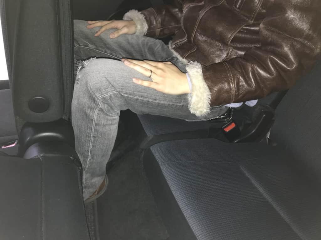 シエンタのサードシート姿勢
