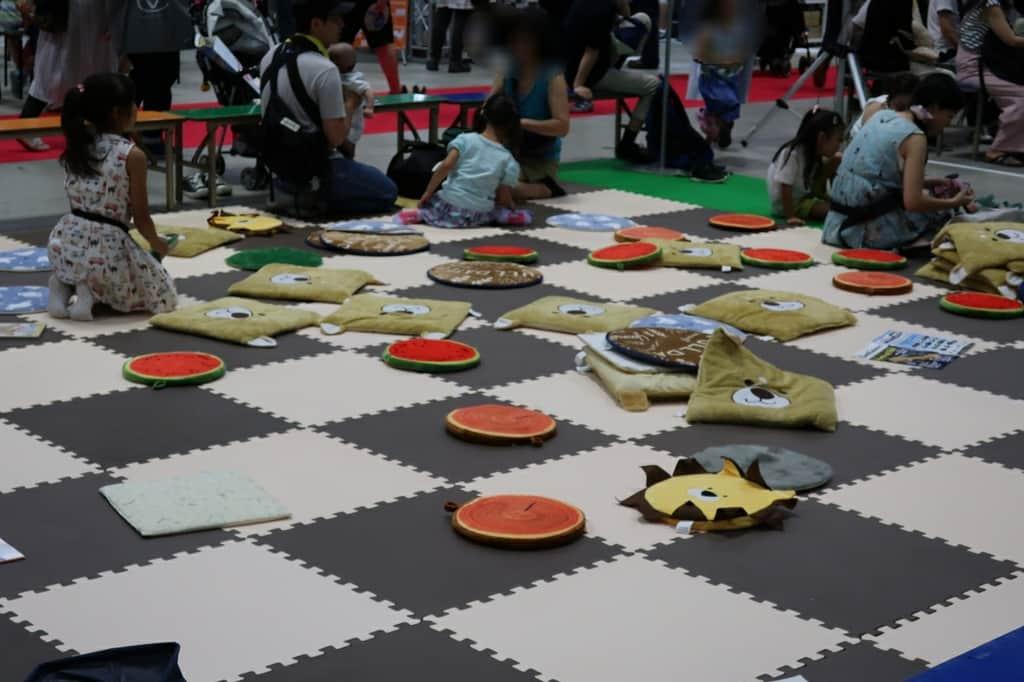 東京キャンピングカーショー2018 遊戯スペース