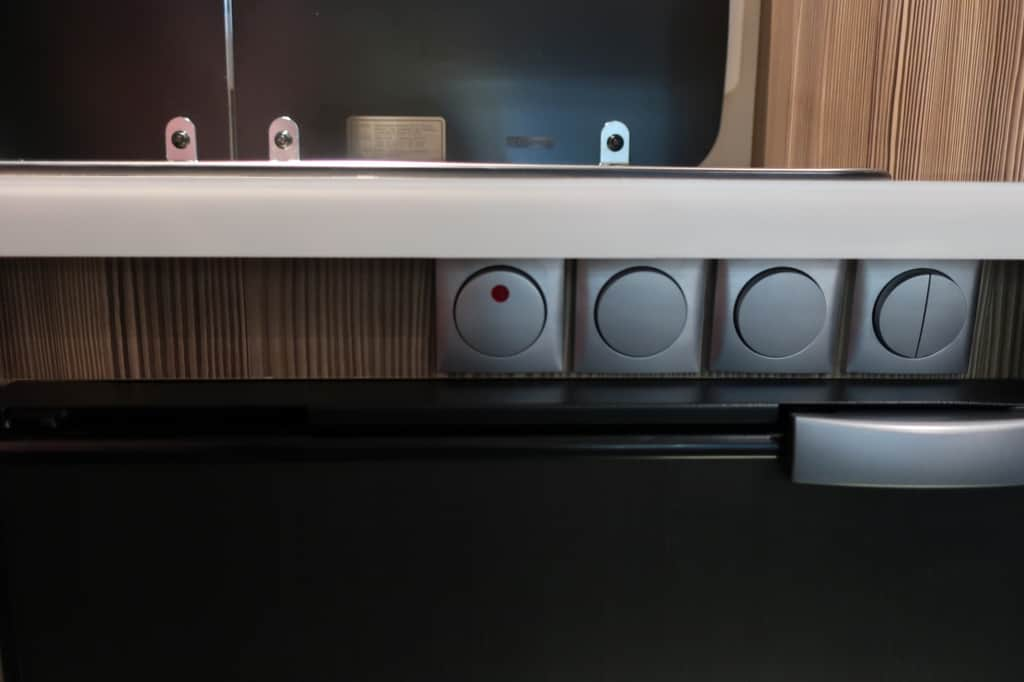 ジル520 クルーズ キッチン ガススイッチ