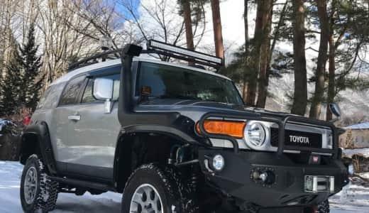 FJクルーザーは雪道に弱い?雪道走行の性能について徹底分析しました!