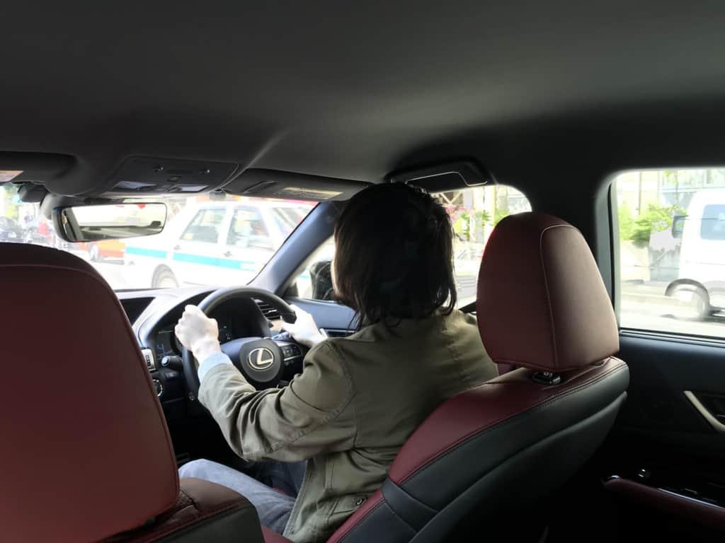 レクサスGS 運転