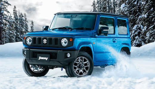 ジムニーは雪道に弱い?雪道走行の性能について徹底分析しました!
