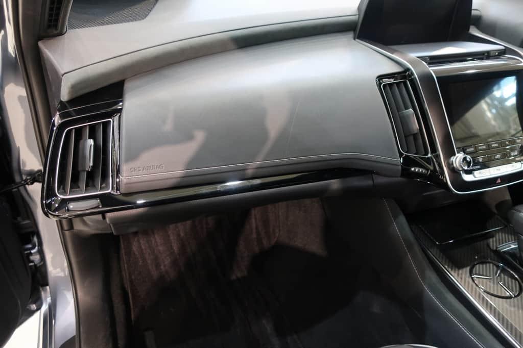クラウン 助手席から見たダッシュボード