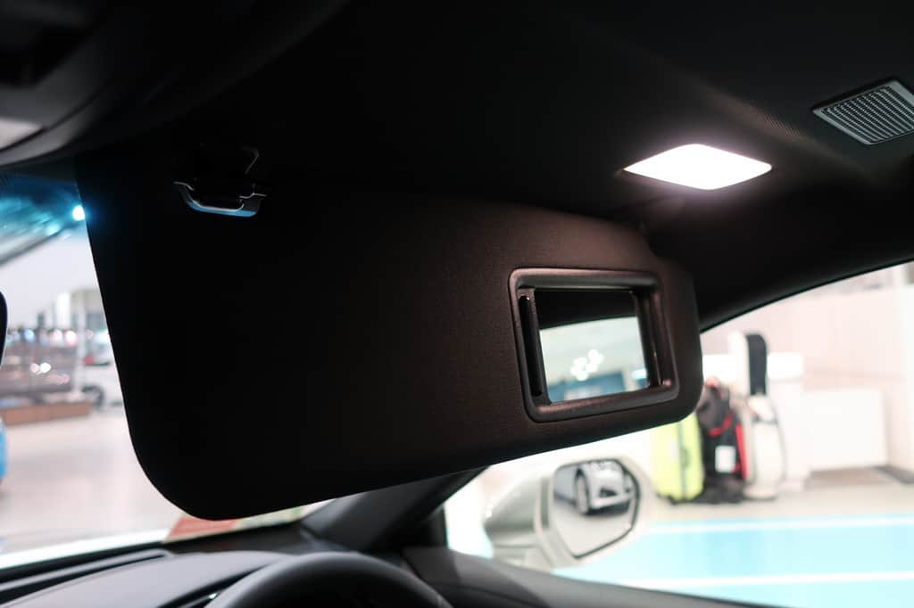 クラウン 運転席サンバイザー ミラー ライト