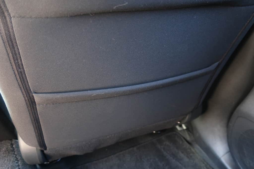 リーフ 運転席後ろのポケット