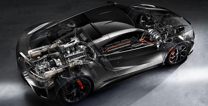 NSX SPORTS HYBRID SH-AWD