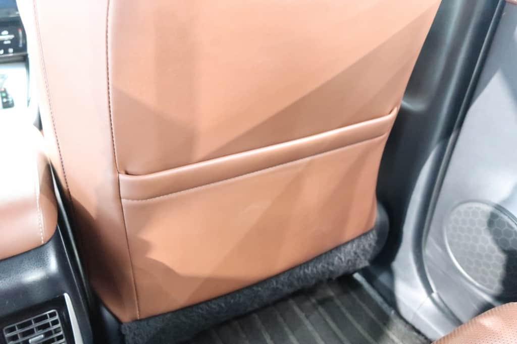 ハリアー 運転席後ろのポケット