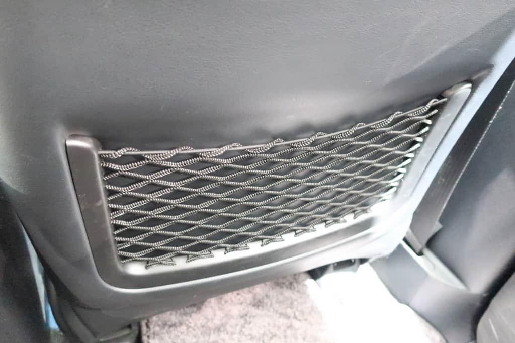 ランドクルーザー 運転席後ろのポケット