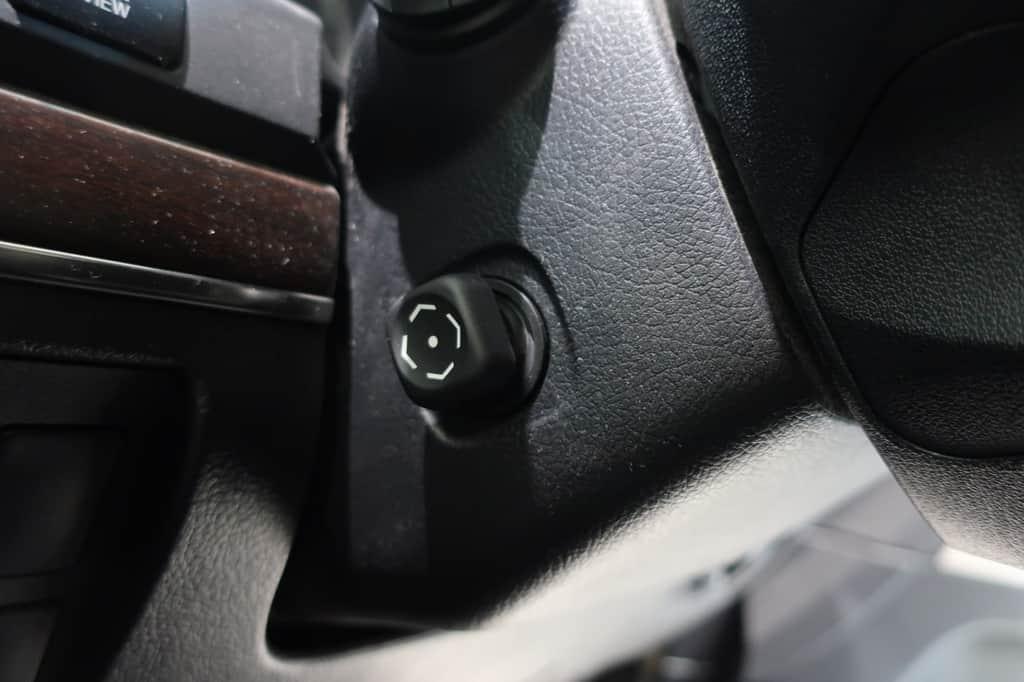 ランドクルーザー ハンドル位置調整スイッチ